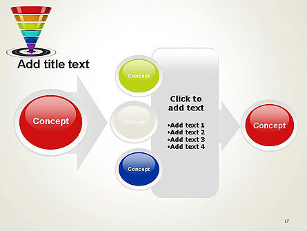 Conversion Funnel PowerPoint Template Slide 17
