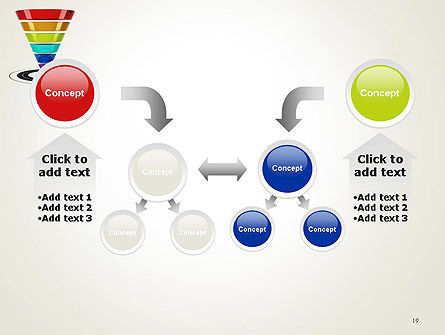 Conversion Funnel PowerPoint Template Slide 19