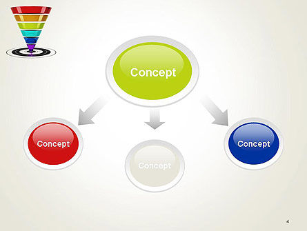 Conversion Funnel PowerPoint Template Slide 4