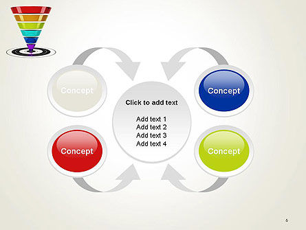 Conversion Funnel PowerPoint Template Slide 6