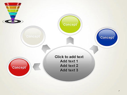 Conversion Funnel PowerPoint Template Slide 7