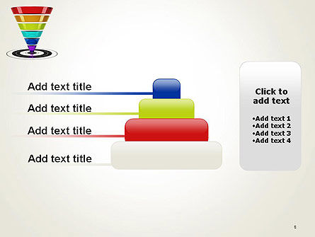 Conversion Funnel PowerPoint Template Slide 8