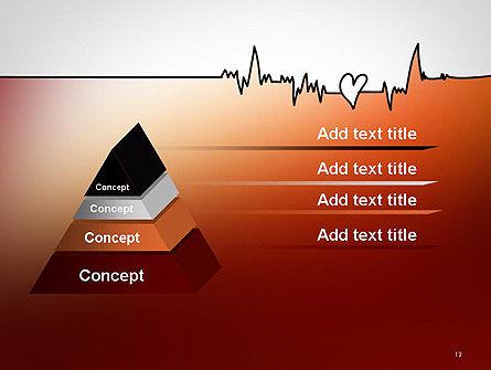 Love Heartbeat PowerPoint Template Slide 12