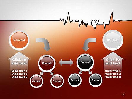 Love Heartbeat PowerPoint Template Slide 19