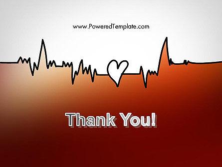 Love Heartbeat PowerPoint Template Slide 20