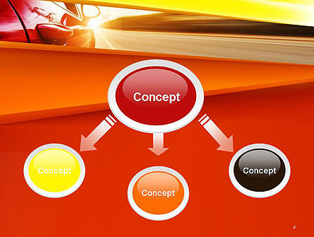 High-Speed Car PowerPoint Template Slide 4
