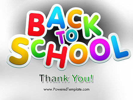 Welcome Back To School PowerPoint Template Slide 20