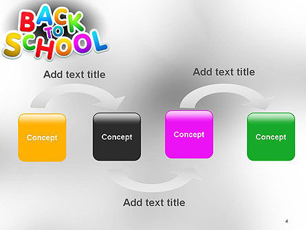 Welcome Back To School PowerPoint Template Slide 4