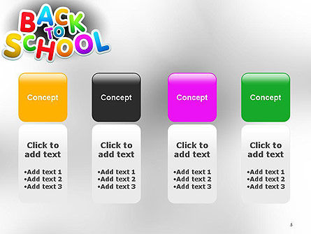 Welcome Back To School PowerPoint Template Slide 5