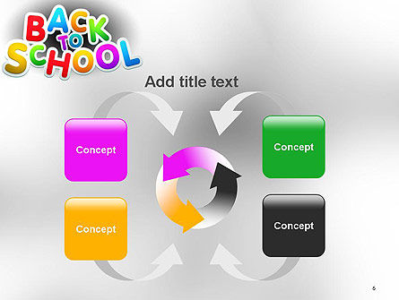 Welcome Back To School PowerPoint Template Slide 6