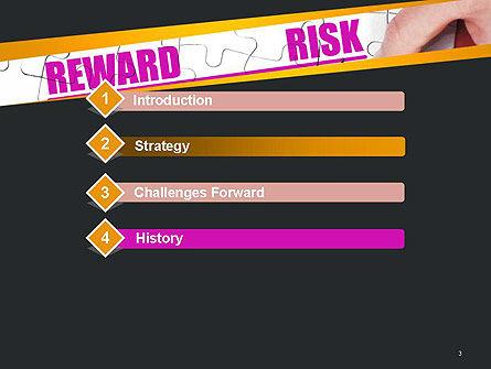 Risk vs Reward PowerPoint Template, Slide 3, 14098, Consulting — PoweredTemplate.com