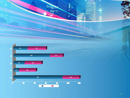 Big City High-speed Rhythm PowerPoint Template Slide 11
