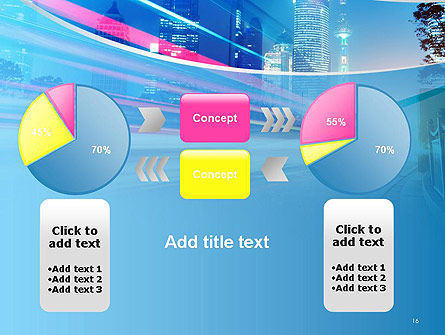 Big City High-speed Rhythm PowerPoint Template Slide 16