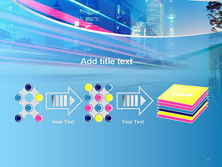 Big City High-speed Rhythm PowerPoint Template Slide 9