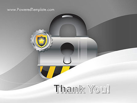 Secured and Locked PowerPoint Template Slide 20