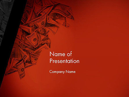 Blood Money PowerPoint Template