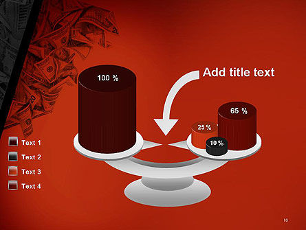 Blood Money PowerPoint Template Slide 10