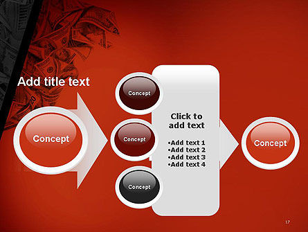 Blood Money PowerPoint Template Slide 17