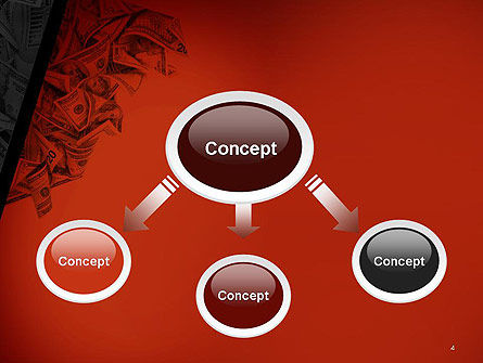 Blood Money PowerPoint Template Slide 4
