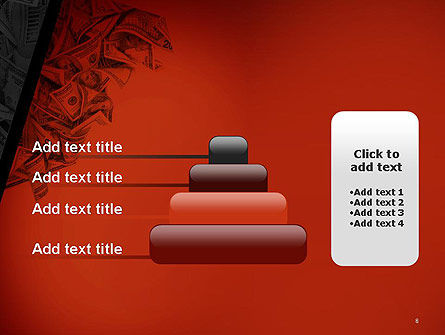 Blood Money PowerPoint Template Slide 8
