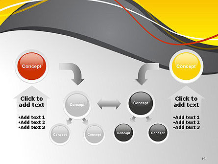 Windy Abstract PowerPoint Template Slide 19