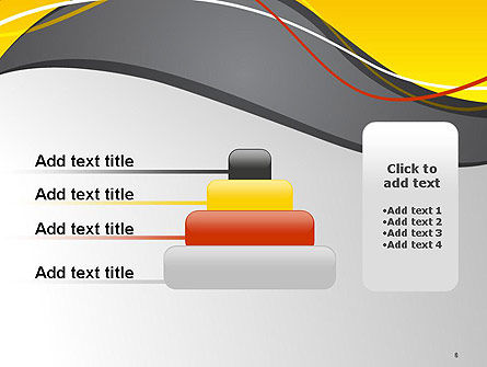 Windy Abstract PowerPoint Template Slide 8