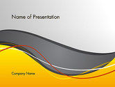 Abstract/Textures: Windy Abstract PowerPoint Template #14103