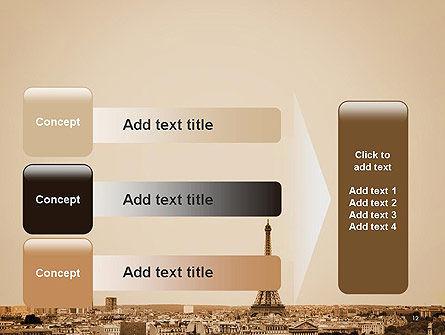 Destination France PowerPoint Template Slide 12