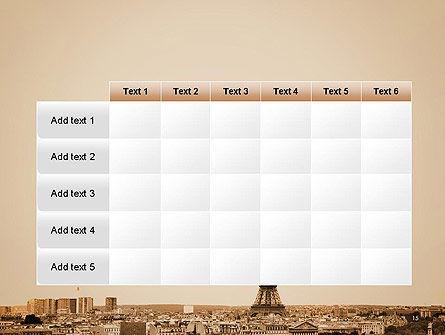Destination France PowerPoint Template Slide 15