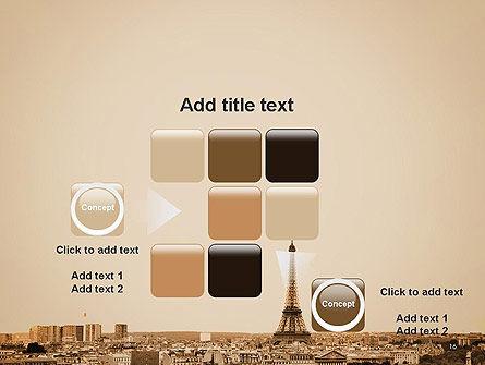 Destination France PowerPoint Template Slide 16