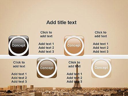 Destination France PowerPoint Template Slide 19