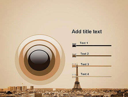 Destination France PowerPoint Template Slide 9