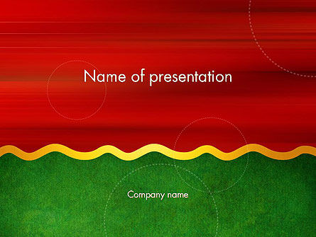 Abstract/Textures: Divided into Two PowerPoint Template #14107