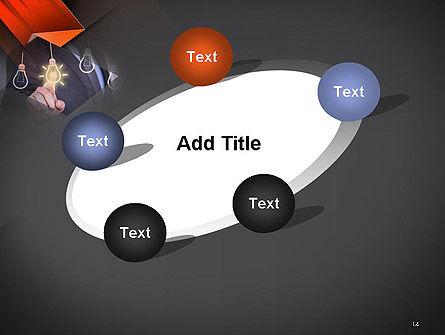 Choosing an Idea PowerPoint Template Slide 14
