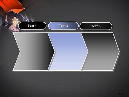 Choosing an Idea PowerPoint Template Slide 16
