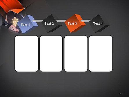 Choosing an Idea PowerPoint Template Slide 18