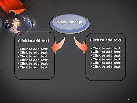 Choosing an Idea PowerPoint Template, Slide 4, 14110, Business Concepts — PoweredTemplate.com