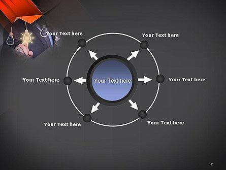 Choosing an Idea PowerPoint Template Slide 7