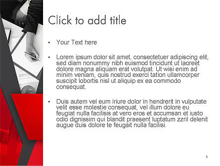 Corporate Business PowerPoint Template, Slide 3, 14111, Business — PoweredTemplate.com