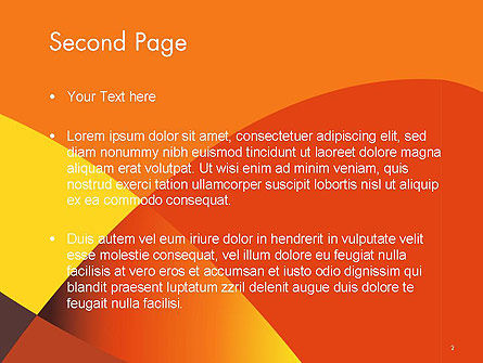 Multilayer Abstract PowerPoint Template Slide 2