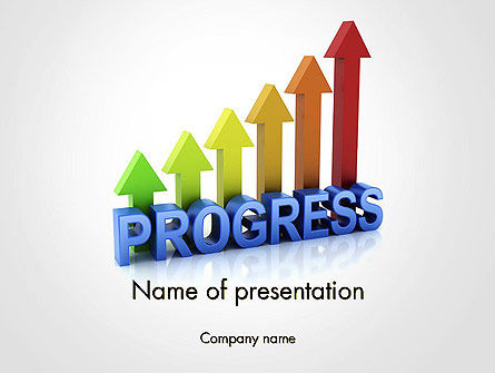 Building a Strong Business PowerPoint Template, 14114, 3D — PoweredTemplate.com