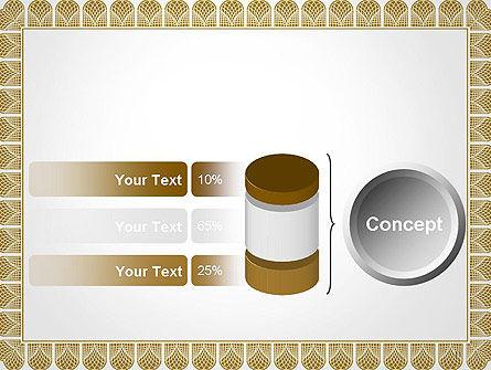 Certificate Frame PowerPoint Template Slide 11