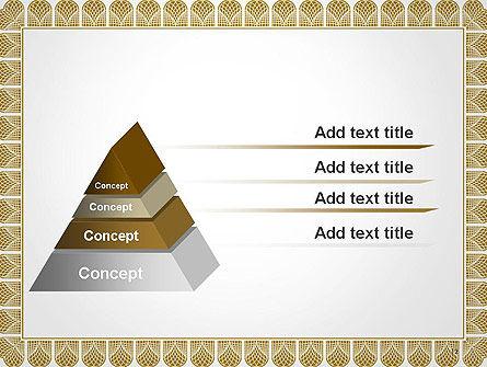 Certificate Frame PowerPoint Template Slide 12