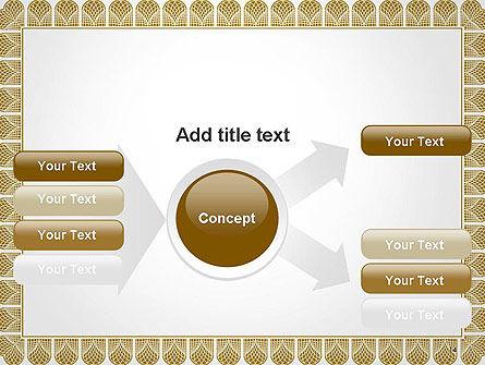 Certificate Frame PowerPoint Template Slide 14