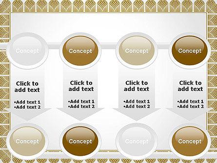 Certificate Frame PowerPoint Template Slide 18