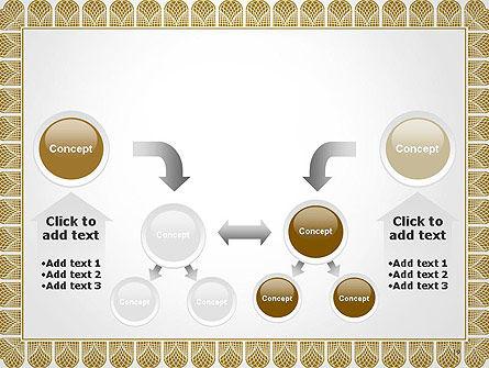 Certificate Frame PowerPoint Template Slide 19