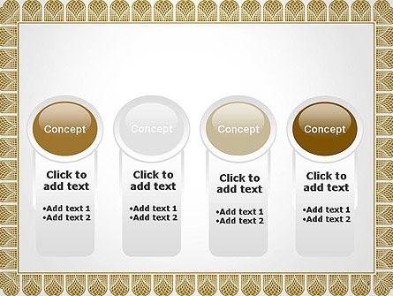 Certificate Frame PowerPoint Template Slide 5