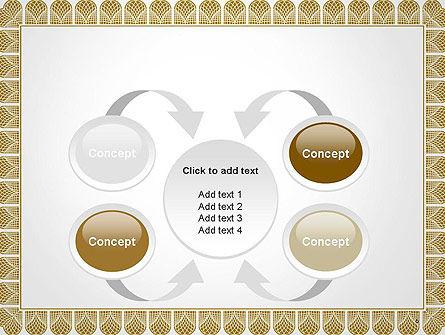 Certificate Frame PowerPoint Template Slide 6