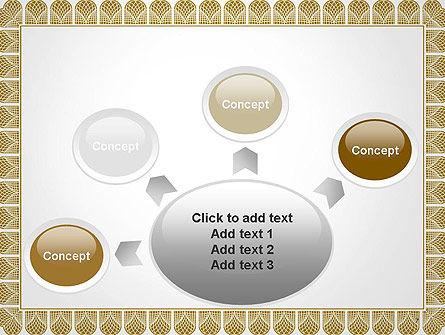 Certificate Frame PowerPoint Template Slide 7