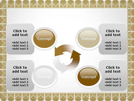 Certificate Frame PowerPoint Template Slide 9